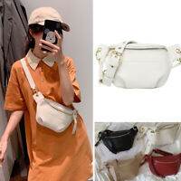 Small Mini Faux Leather Shoulder Bag Crossbody Sling Bag Purse Fanny Waist Pack