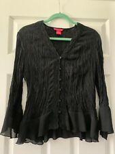 Sunny Leigh Womens Blouse, Size L