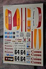 Decal 1/24 Porsche 924 Turbo ART. 5199 BURAGO CARTOGRAF BOLOGNA