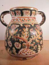 Céramique Vintage 50 Important vase Ansé Moderniste KÉRALUC Quimper PAUL YVAIN