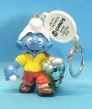 20460 GOLF #2 Schlumpf Schleich Vertreter CLIP smurf promo pub Werbung