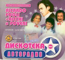 CD MP3 RICCARDO FOGLI + RICCHI E POVERI