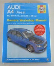 Reparaturanleitung Audi A 4 Typ 8 K, Diesel, Baujahr Maerz 2008 - Okt. 2015