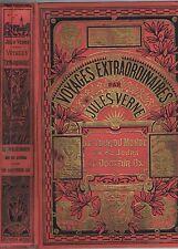 Le TOUR du MONDE en 80 JOURS & Le DOCTEUR OX de Jules VERNE Illustré HETZEL 1932