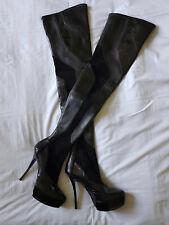 Gucci botas altas talla 39 negro Boots Black
