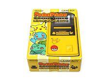 Nintendo Pocket Game Boy Printer Pikachu Yellow Japan Pokemon No Battery New