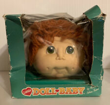 Fibre Craft Materials Little Doll Baby Head, Red Hair, nice!