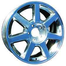 """New 2004-2007 Cadillac CTS / STS 17 inch 17"""" 17X7.5 Polished Alloy Wheel"""