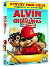 Alvin and the Chipmunks: Chipwrecked - DVD