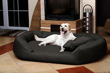 tierlando® Orthopädisches Hundebett Sammy VISCO | Polyester 600D | XL - XXXXL