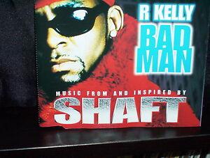 R KELLY BAD MAN - RARE AUSTRALIAN CD SINGLE NM