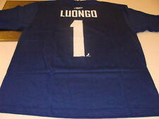 Vancouver Canucks Roberto Luongo Name Number T Shirt M Reebok NHL Hockey