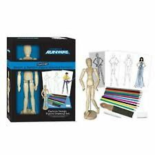 Project Runway Sketch a Fashion Wood Figure drawing portfolio Set NEW