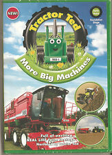 TRACTOR TED - MORE BIG MACHINES - CHILDREN'S DVD FARMING NEW