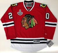 BRANDON SAAD 2015 CHICAGO BLACKHAWKS STANLEY CUP REEBOK NHL PREMIER JERSEY