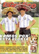 SOCCER WORLD CUP 1986 & SWC 1978 DIEGO MARADONA Argentina magazine