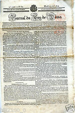 journal du Puy de Dôme . N° 51 .  Mardi 27 avril 1824 ..