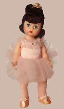 Ballerina-Madame-Alexander-#430- 8-Inch-Doll-PINK TUTU /ALL ORIG. BRUNETTE