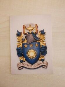 Royal College of Nursing College COAT OF ARMS Postcard