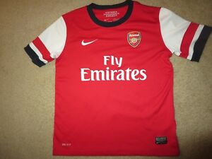 Jack Wilshere #10 Arsenal Football Soccer Jersey Children Youth M 10-12