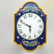 Deruta Fratelli Mari For Ceramica 1088 Clock Made in Italy