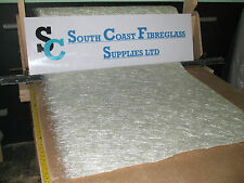 Fibreglass FLAT ROOFING   matting 600g   10 mtrs other lengths available