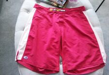 Men's Ck Fight Gear Shorts Size 38 Red with white stripes