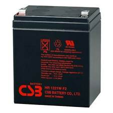 HITACHI CSB HR1221W F2 12V 21W (5Ah) High Rate Sealed Lead Acid UPS Battery