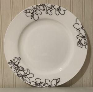 "Ciroa Forma Black 11"" Dinner Plate"