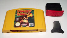 Donkey Kong 64 and Memory Expansion Pak + Puller N64 Nintendo 64 PAL