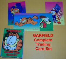 GARFIELD the cat  Complete Trading Card Set