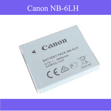 1Genuine Canon NB-6LH NB-6L Li-Ion Battery for Canon PowerShot SX510 HS SX170 IS