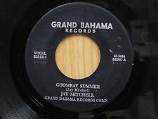Jay Mitchell 45 Goombay Summer bw Goombay Gambol - Grand Bahama VG