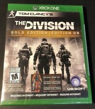 Tom Clancy's The Division GOLD Edition [ Game + Season Pass ] (XBOX ONE) NEW