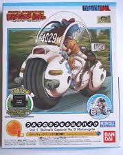 BANDAI Dragon Ball Mecha collection Bulma's Capsule Motorcycle Plastic Model Kit
