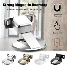 Stainless Steel Magnetic Door Stop,1 Pack Heavy Duty Door Stopper, Mount Magnets