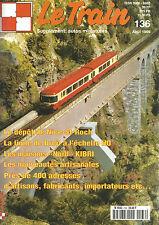 """LE TRAIN N°136 DEPOT DE NICE-ST-ROCH/LIGNE DE BREIL/MAISONS """"NORD""""/MARE NOSTRUM"""