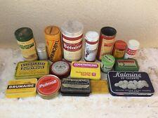Lot d ancienne boite Publicitaire Theme pharmacie médicaments collection