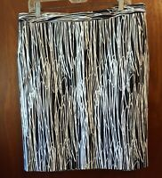 Worthington women's Skirt  black and white  size 12  great condition
