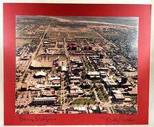 Barry Switzer Billy Tubbs Autograph Photo NCAA University of Oklahoma Sooners OU