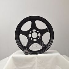ROTA WHEEL SLIPSTREAM 15x8 4X100 20 57.1  FBLK CIVIC MIATA MR2 BMW E30