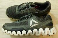 Reebok Zigwild Men's Trail Running Shoes - Grey/White - Size 8 - Excellent!