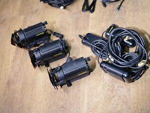 Dedolight DLH2 set of 3 video lights