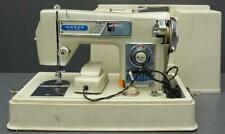 vtg Morse Zig-Zag 4300 Fotomatic Sewing Machine w/ Foot Pedal & Carry Case