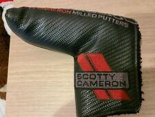 Titleist Scotty Cameron Black Select Milled Putters Blade Head Cover