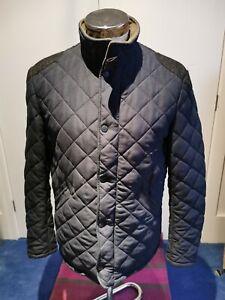 Sterling Fleece Lined Men's Medium Buttoned Warm Navy Jacket