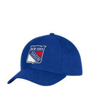 New York Rangers NHL Unisex Adidas Baseball Cap, One size, Blue