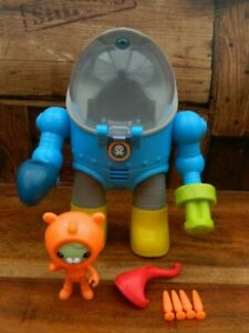 Octonauts Tweak's Octo Max Suit with Missile Launcher and Figures