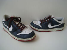 2008 NIKE DUNK LOW CL NAVY/WHITE/VARSITY RED SHOES MEN SIZE US 13 NICE RARE