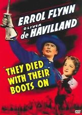 They Died With Their BOOTS on 0012569518025 With Errol Flynn DVD Region 1